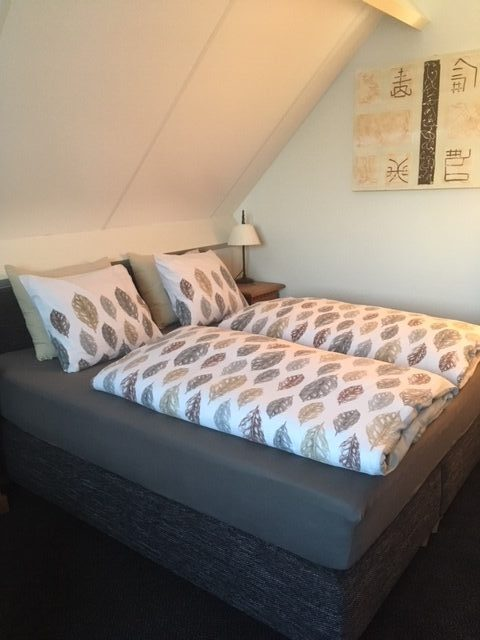 Comfortabel bed.